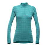 Alnes Woman Half Zip Neck Lake
